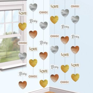 Verloving string decoratie 6-delig