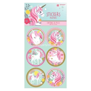 Unicorn magical stickers 24 stuks