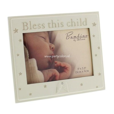 Bambino - fotolijst bless this child