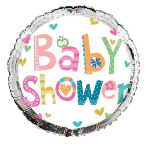 Folie ballon baby shower 45.7 cm