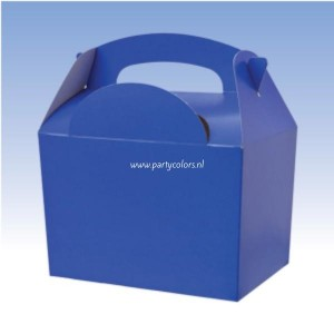 Partybox donkerblauw