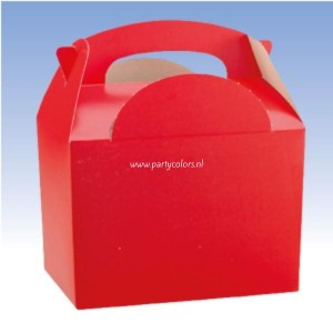 Partybox rood
