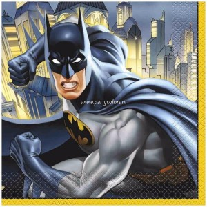 Batman hero servetten 16 stuks