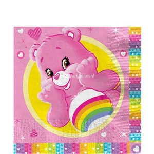 Care bears servetten 16 stuks