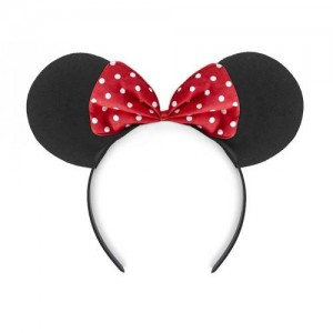 Minnie mouse oortjes