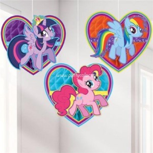 My little pony rainbow honeycomb 3-delig