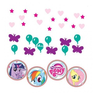 My little pony rainbow confetti 34 gram