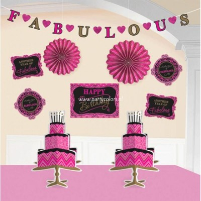 Absolutely fabulous decoratie set