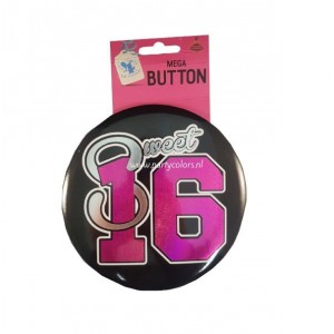 Sweet sixteen mega button