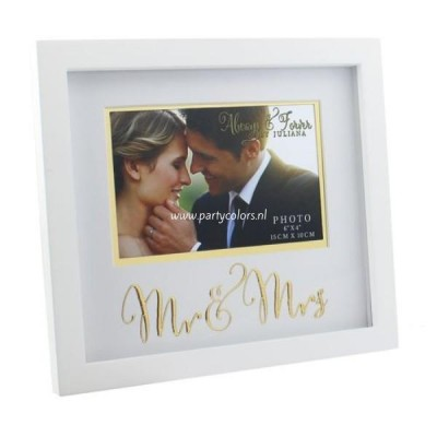 Always & Forever - fotolijst mr & mrs
