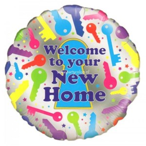 Folie ballon welcome to your home!