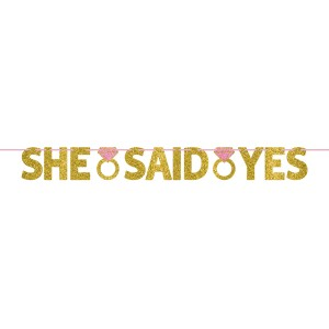 She said yes letterslinger 120 cm