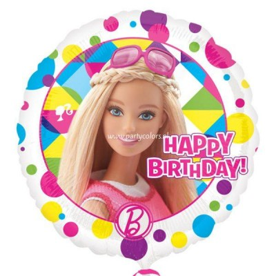 Barbie sparkle folie ballon 43 cm