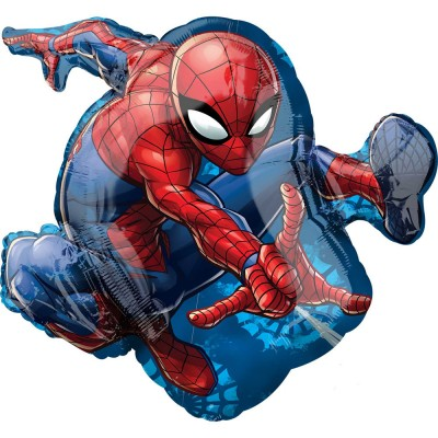 Spiderman folie ballon super shape 73 x 43 cm