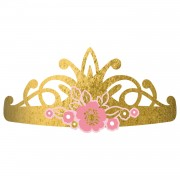 Princess for a day tiara 8 stuks