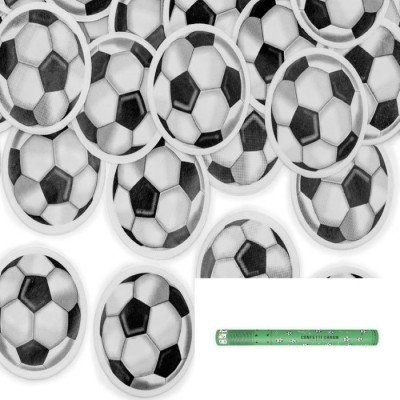 Party popper voetbal 40 cm