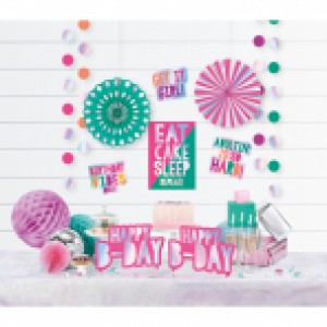 Young and fab decoratie pakket 12-delig