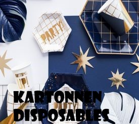 11 Kartonnen Disposables